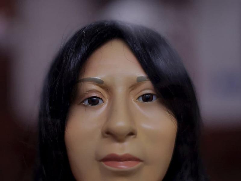 Реконструированное лицо