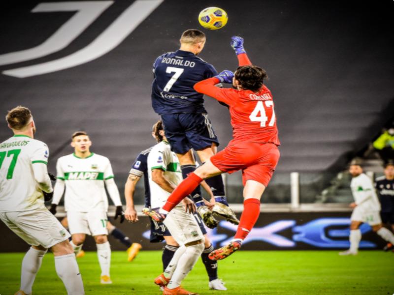 Удар головой от Роналду