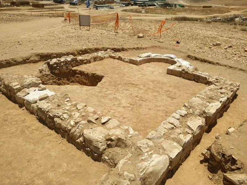 Место раскопок