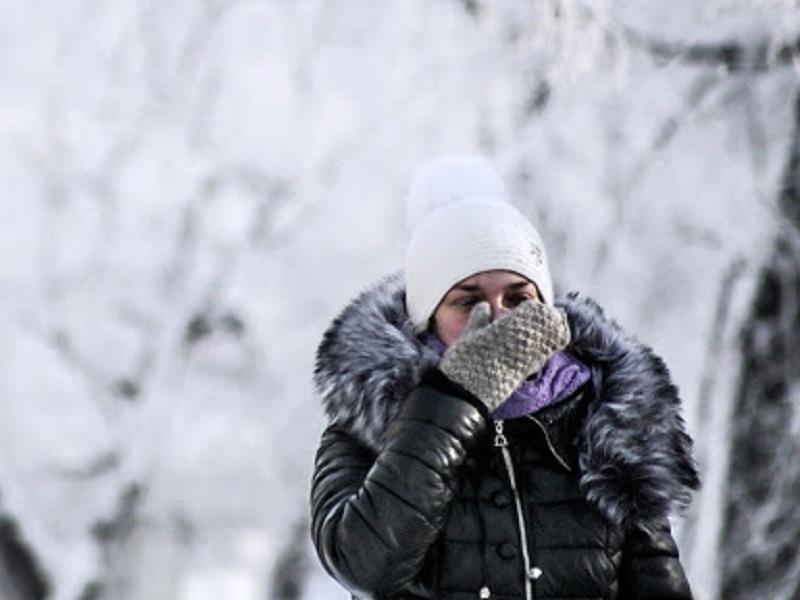 Похолодание в Украине.