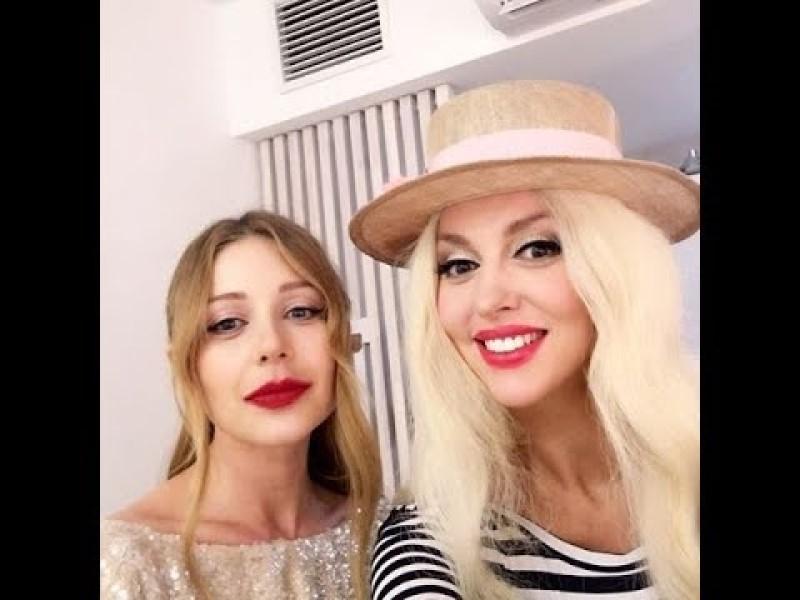 Тина Кароль и Оля Полякова