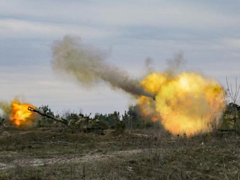 Обострение ситуации на Донбассе.