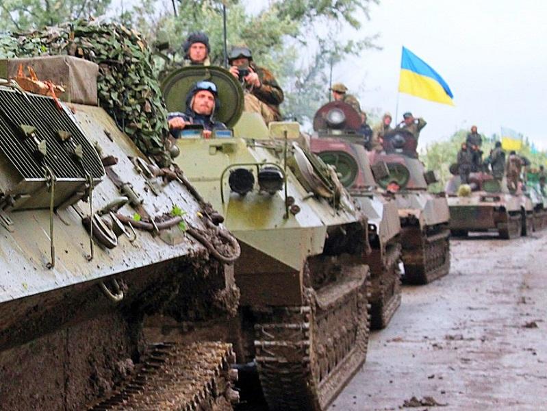 Усиление позиций ВСУ на Донбассе.