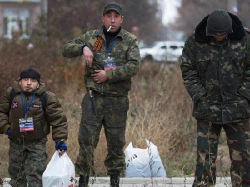 Российские военные-контрактники.