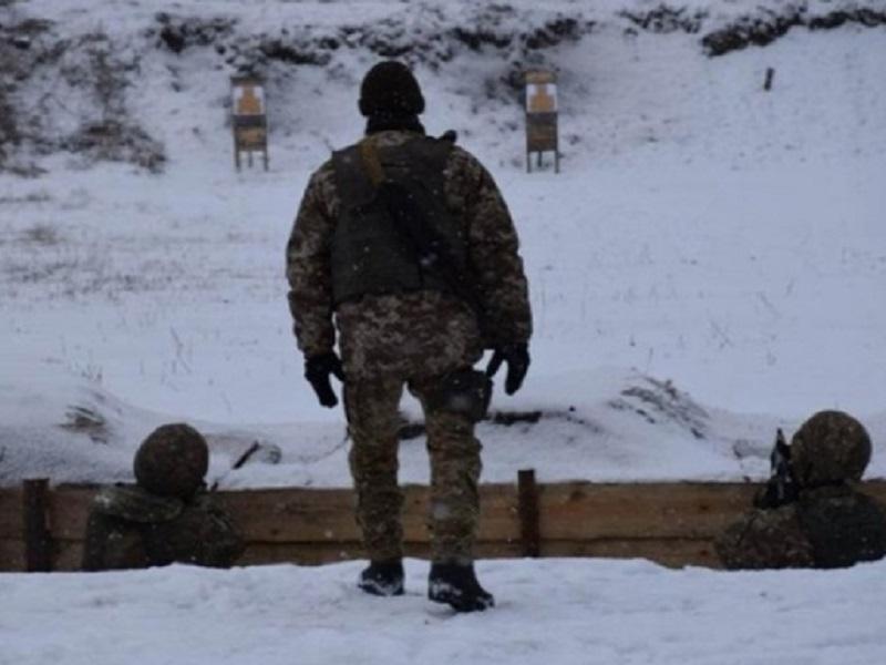 Гибель военных ВСУ при пожаре.