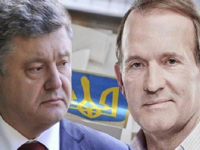 Порошенко был тесно связан с Медведчуком и Путиным.
