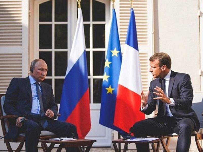 Марон призвал Евросоюз к твердости по отношению к Путину.