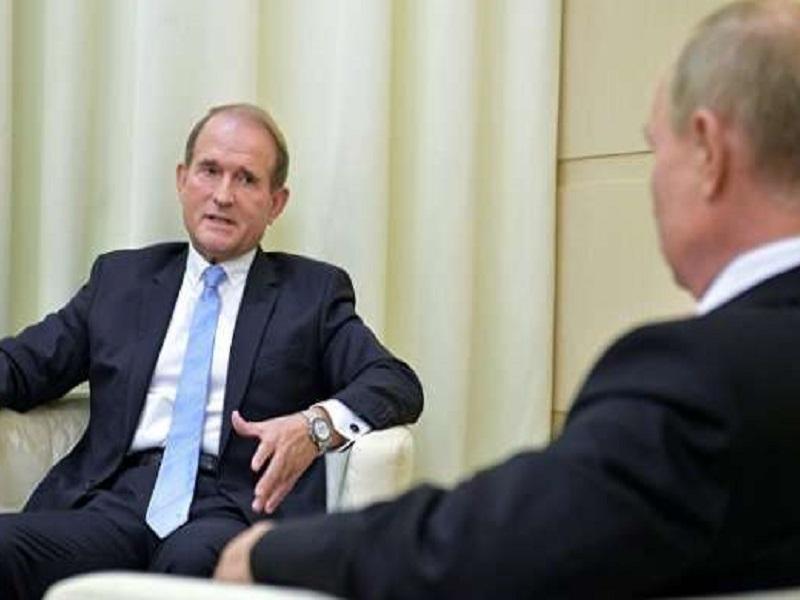 Путин предложил Медведчуку резиденцию в Краснодаре.