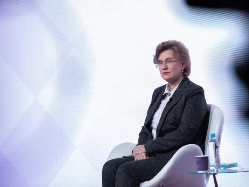 Главный инфекционист Украины Ольга Голубовская.
