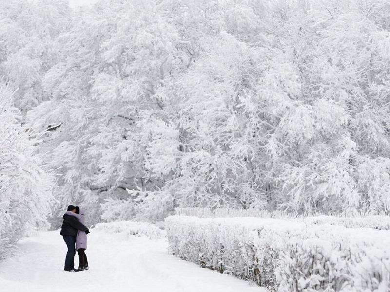Новая волна морозов в Украине.