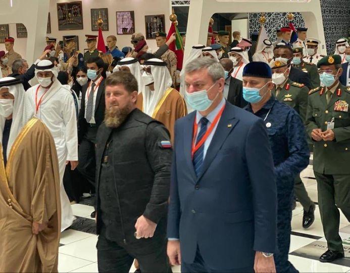 Кадыров и Уруский в ОАЭ