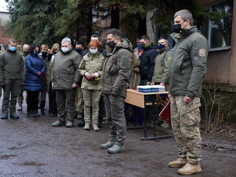 Владимир Зеленский соболезнует утрате родных Глушко