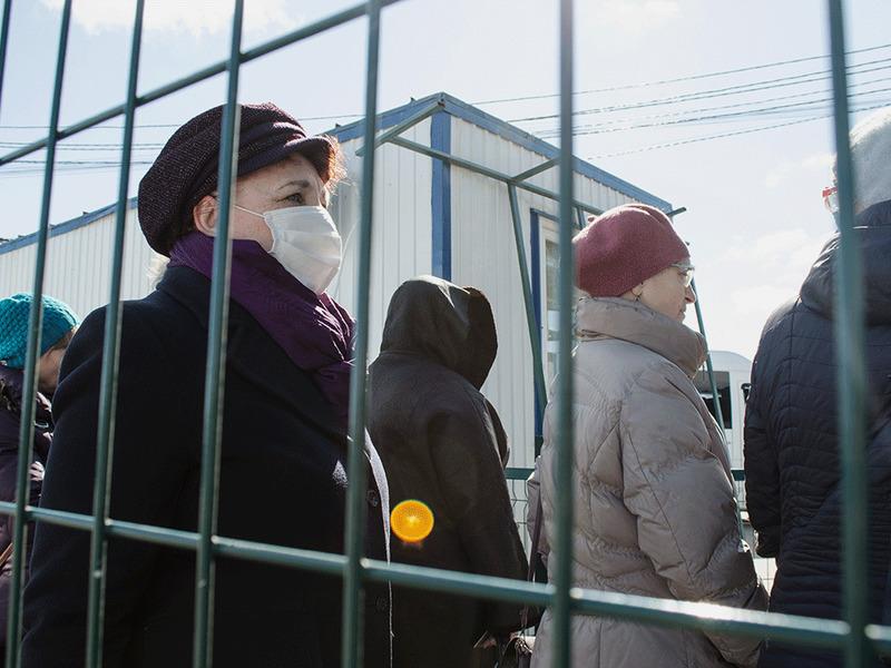 Карантин на Донбассе