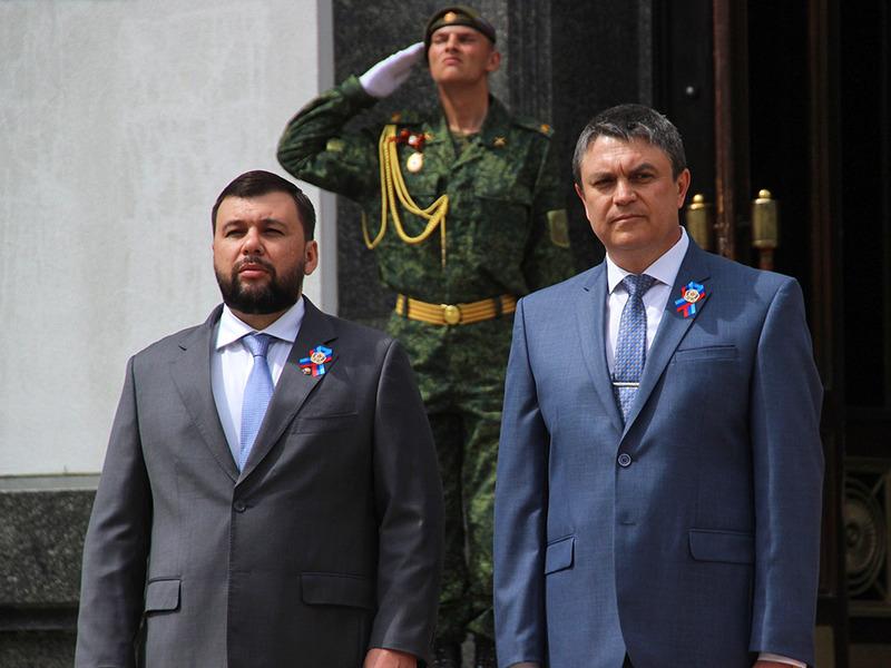 Денис Пушилин и Леонид Пасечник