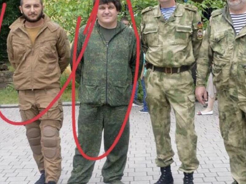 """Задержание """"Абхаза"""" и его бойцов в Абхазии."""
