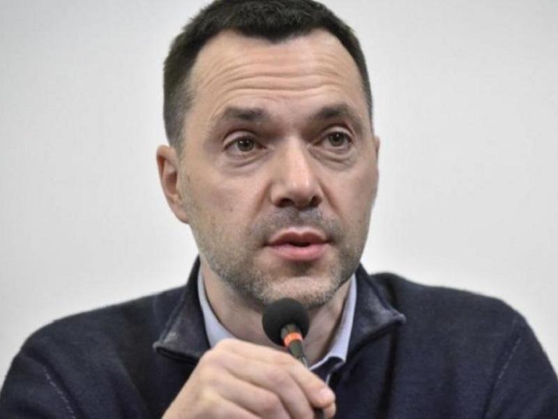 Спикер украинской делегации в ТКГ Алексей Арестович.