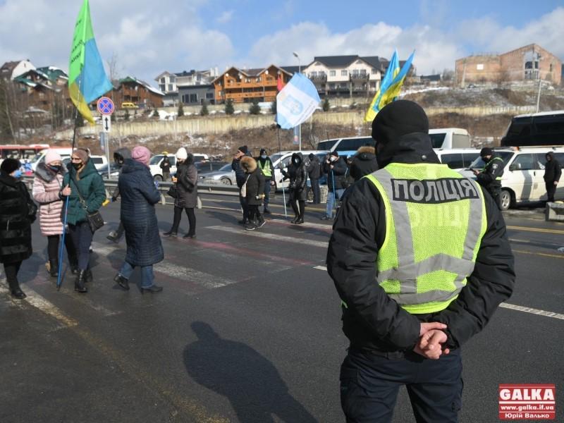 "Протест возле ""Буковеля"""