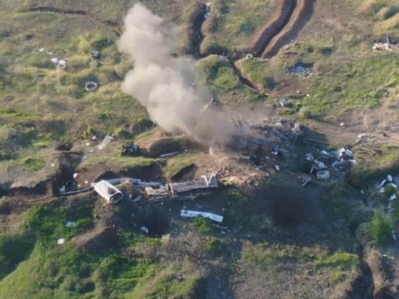 Бойцы ВСУ уничтожили важную позицию боевиков.