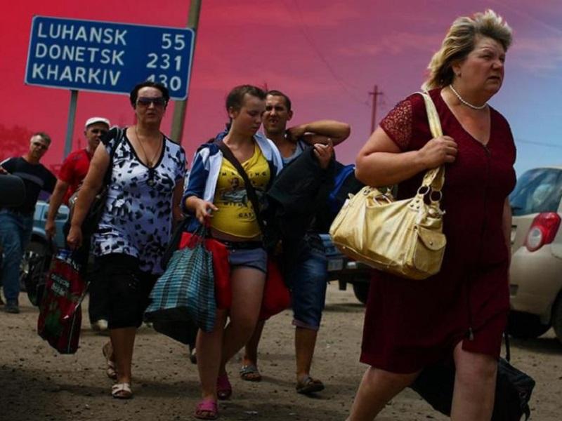 Россия закрыла штабдля беженцев из Донбасса.
