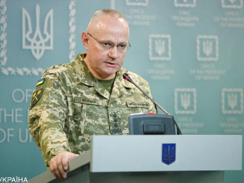 Хомчак сообщил о готовности ВСУ к наступлению на Донбассе.