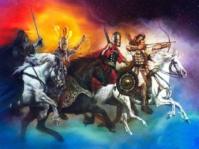 Всадники Апокалипсиса - вестники конца света.