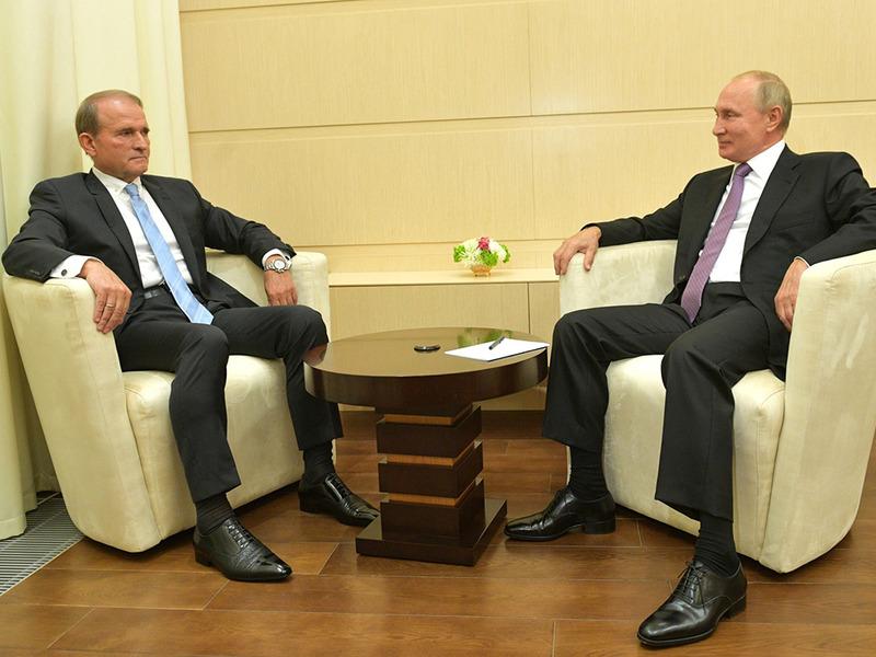 Медведчук и Путин