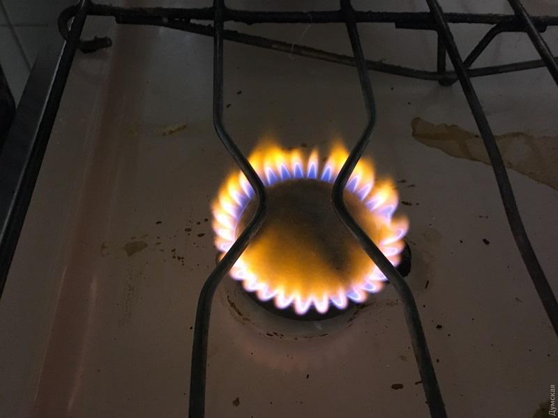 Газ перестал быть голубым.