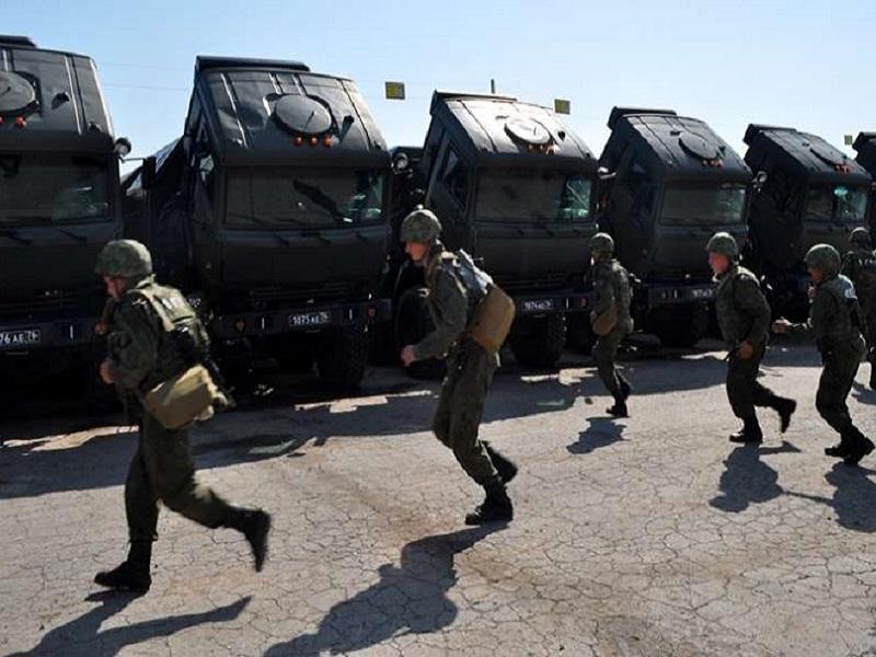 Полномасштабные учения вооруженных сил России.