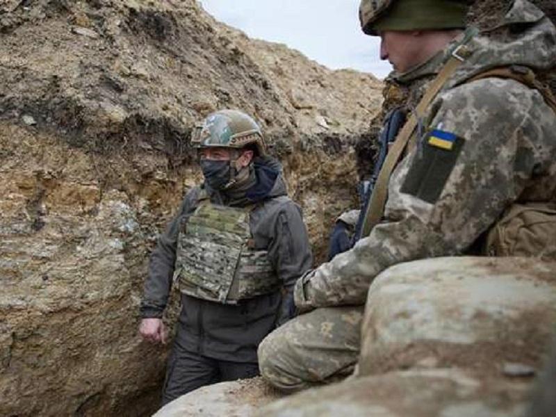 Эскалация конфликта на Донбассе.