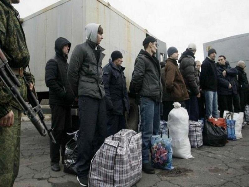 Обмен пленными на Донбассе.