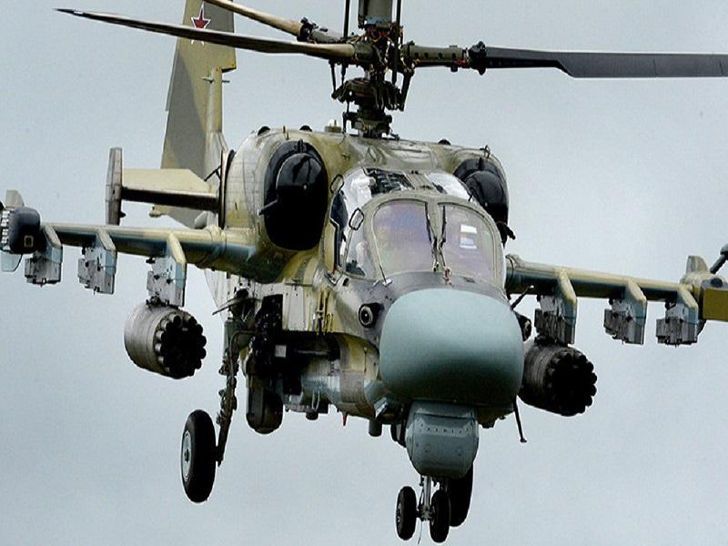 Боевые вертолеты РФ опять появились в небе возле границ Украины.