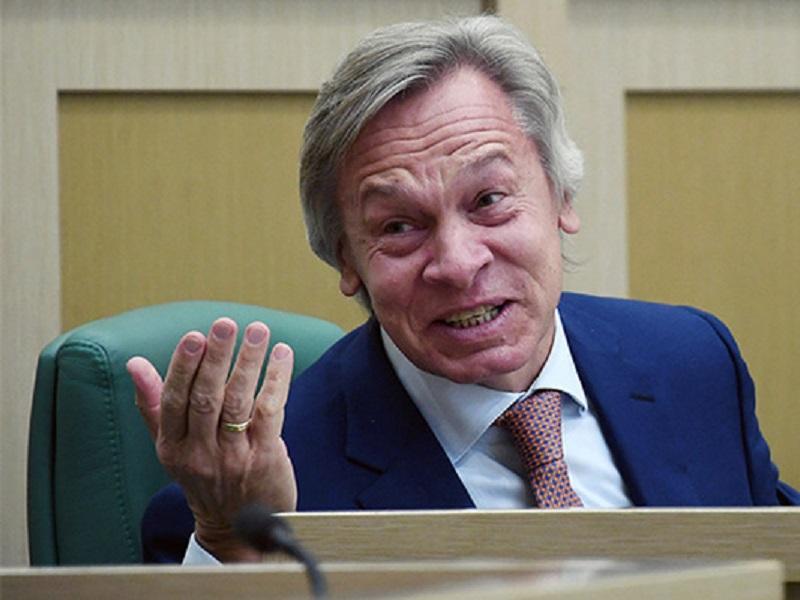 Пушков заявил, что Зеленскому нечего предложить Путину.