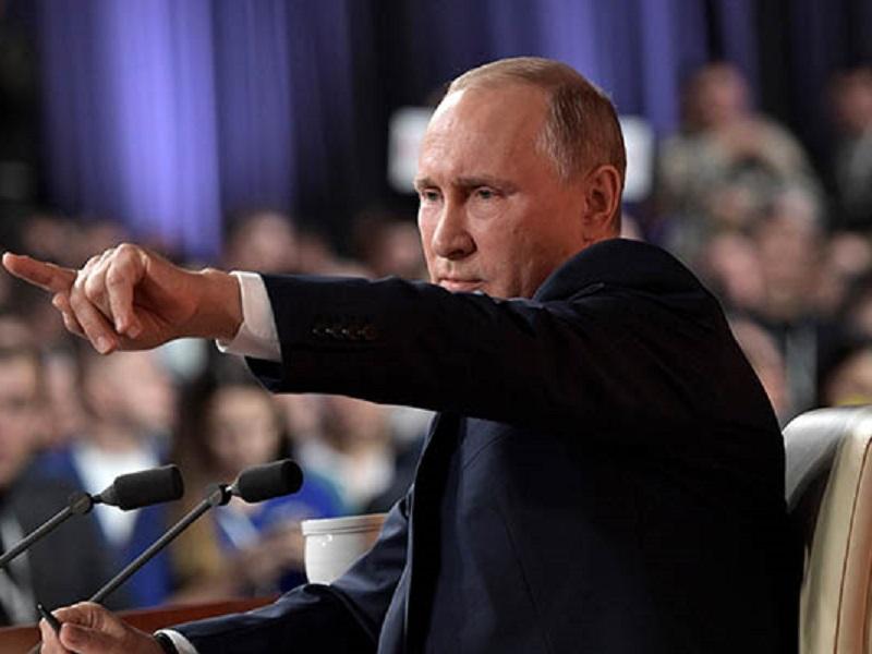 Ультиматум Путина по Донбассу.