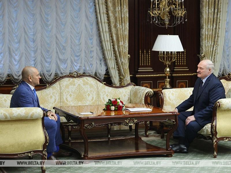 Шевченко и Лукашенко