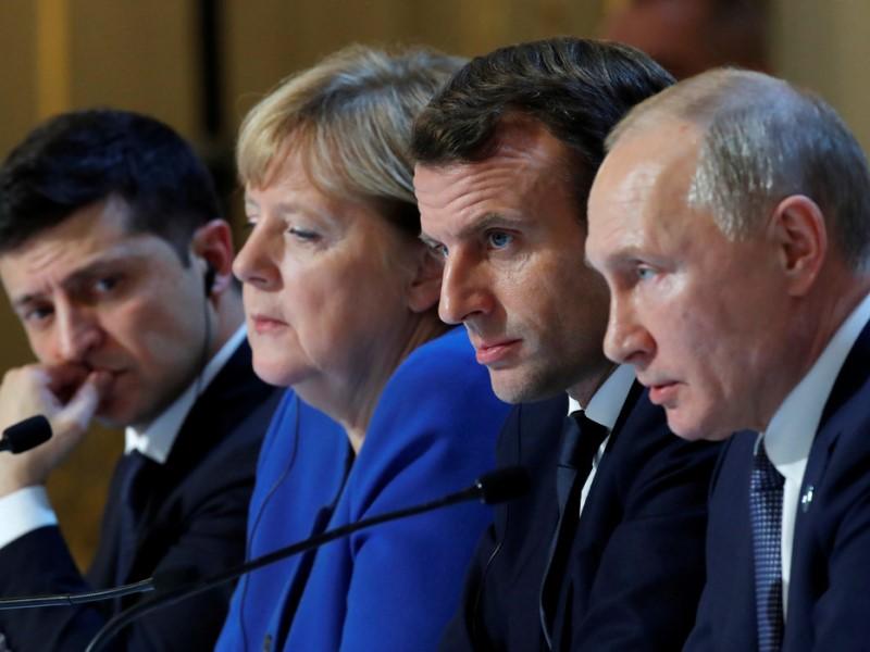Лидеры Нормандского саммита