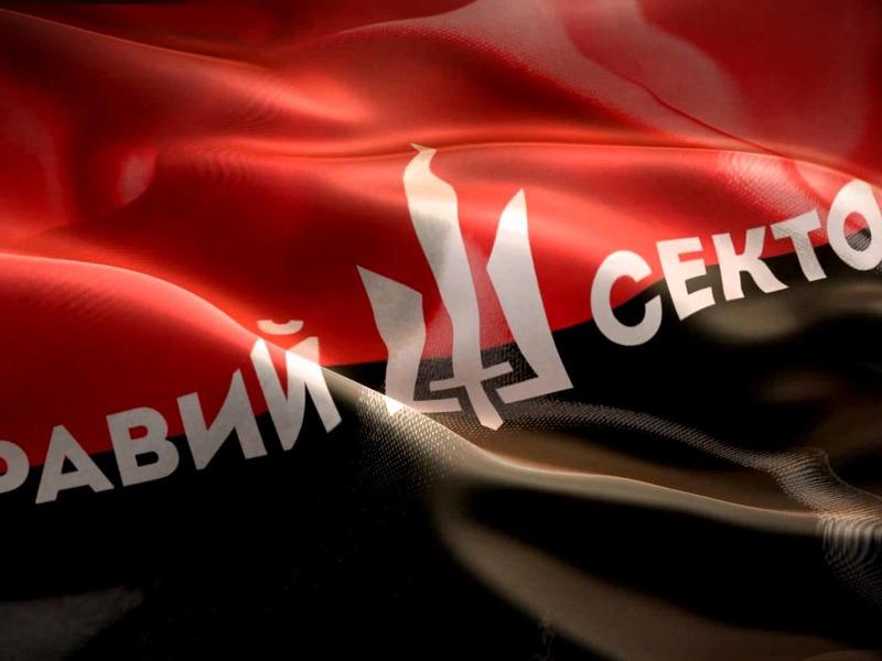 Флаг «Правого Сектора»