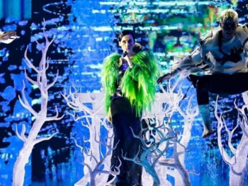 Go_A на репетиции на сцене Евровидения-2021