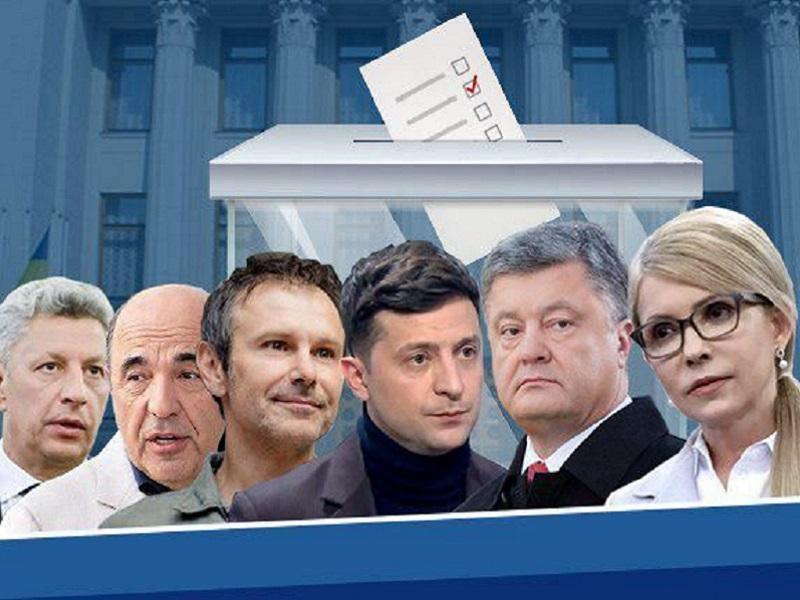 Обновленный рейтинг ведущих украинских политиков.