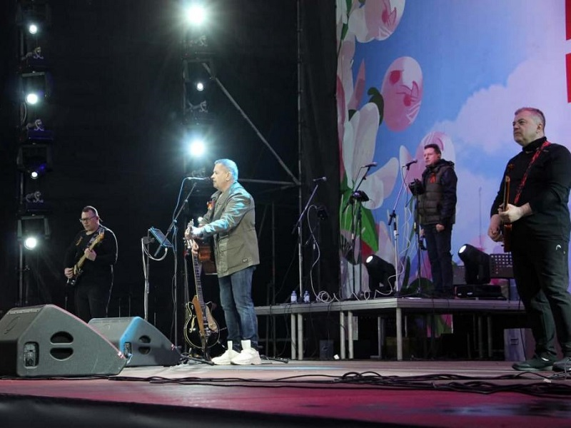 Концерт «Любэ» в Донецке был под угрозой срыва.