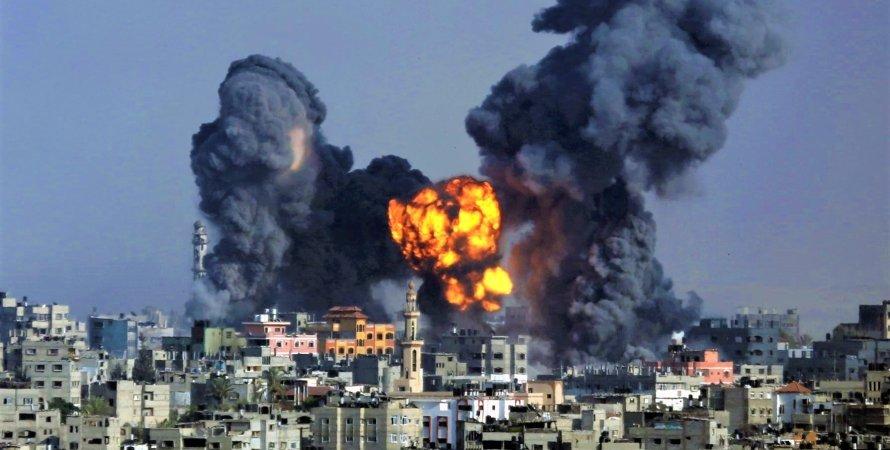 Военное противостояние между Израилем и Палестиной