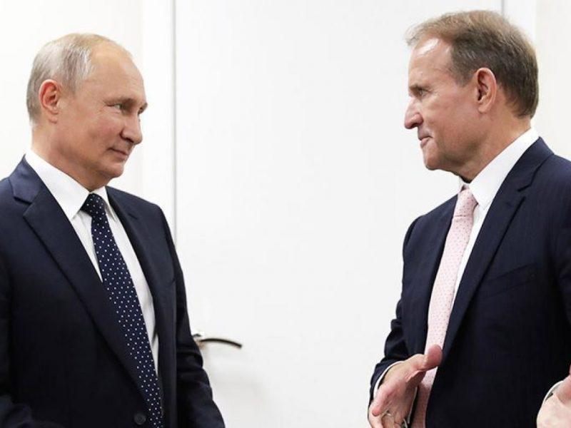 Путин и Медведчук