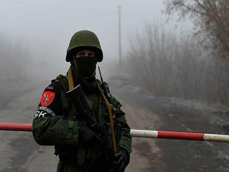 Через неделю откроют «границу» между «ДНР» и «ЛНР».