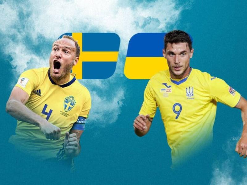 Сборные Швеции и Украины