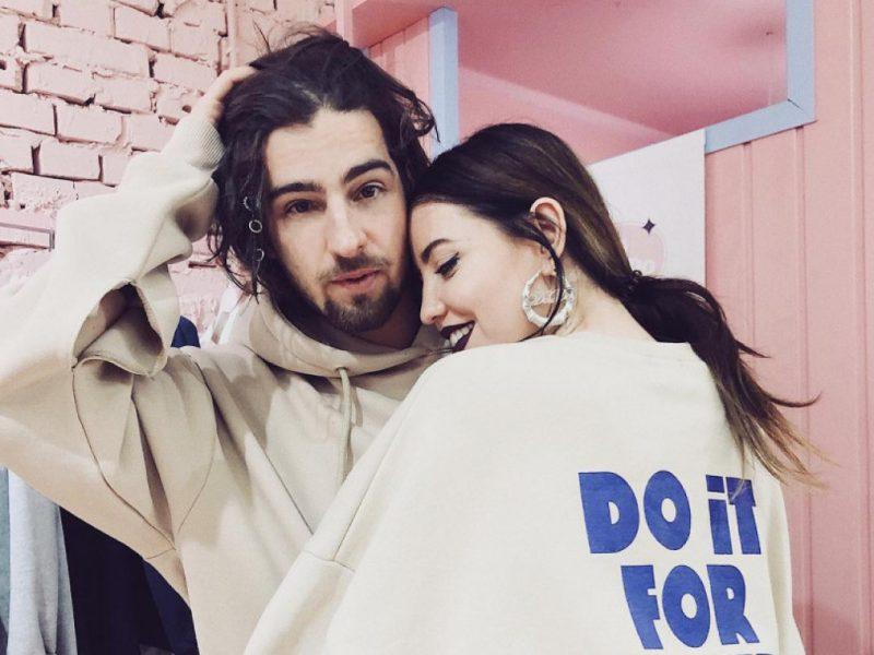 Дантес и Надя Дорофеева