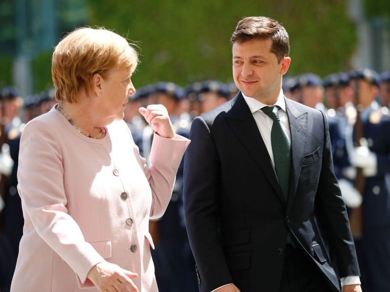 Меркель об Украине