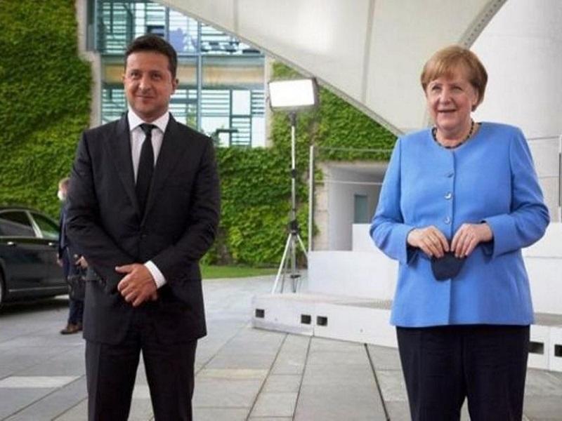 Неутешительные результаты встречи Зеленского и Меркель.