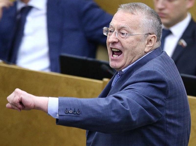 Реакция Жириновского на жалобу РФ в ЕСПЧ против Украины.