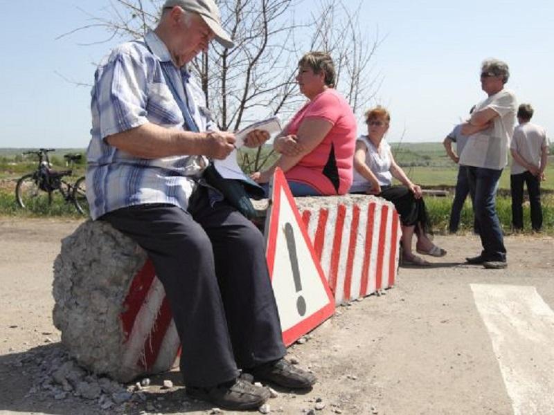 Штрафы за въезд в Украину из ОРДЛО через Россию отменены.