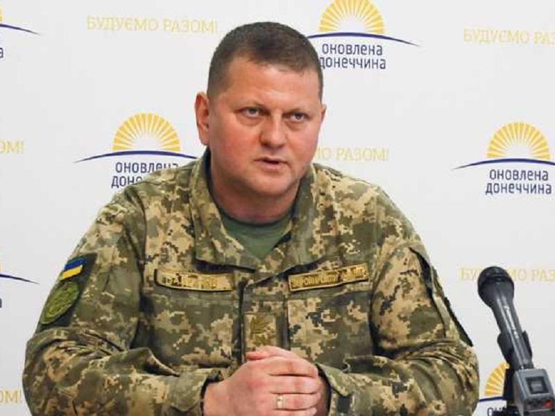 Валерий Залужный назначен новым главкомом ВСУ.