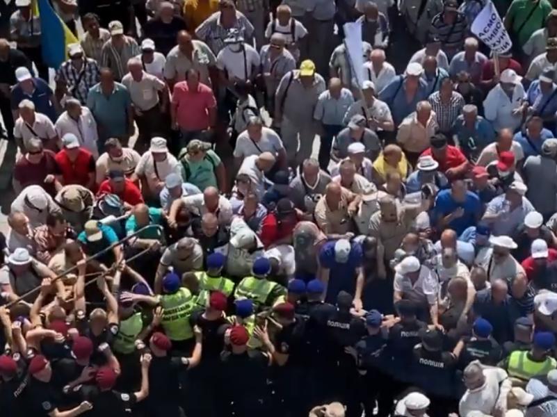Протест под ВР